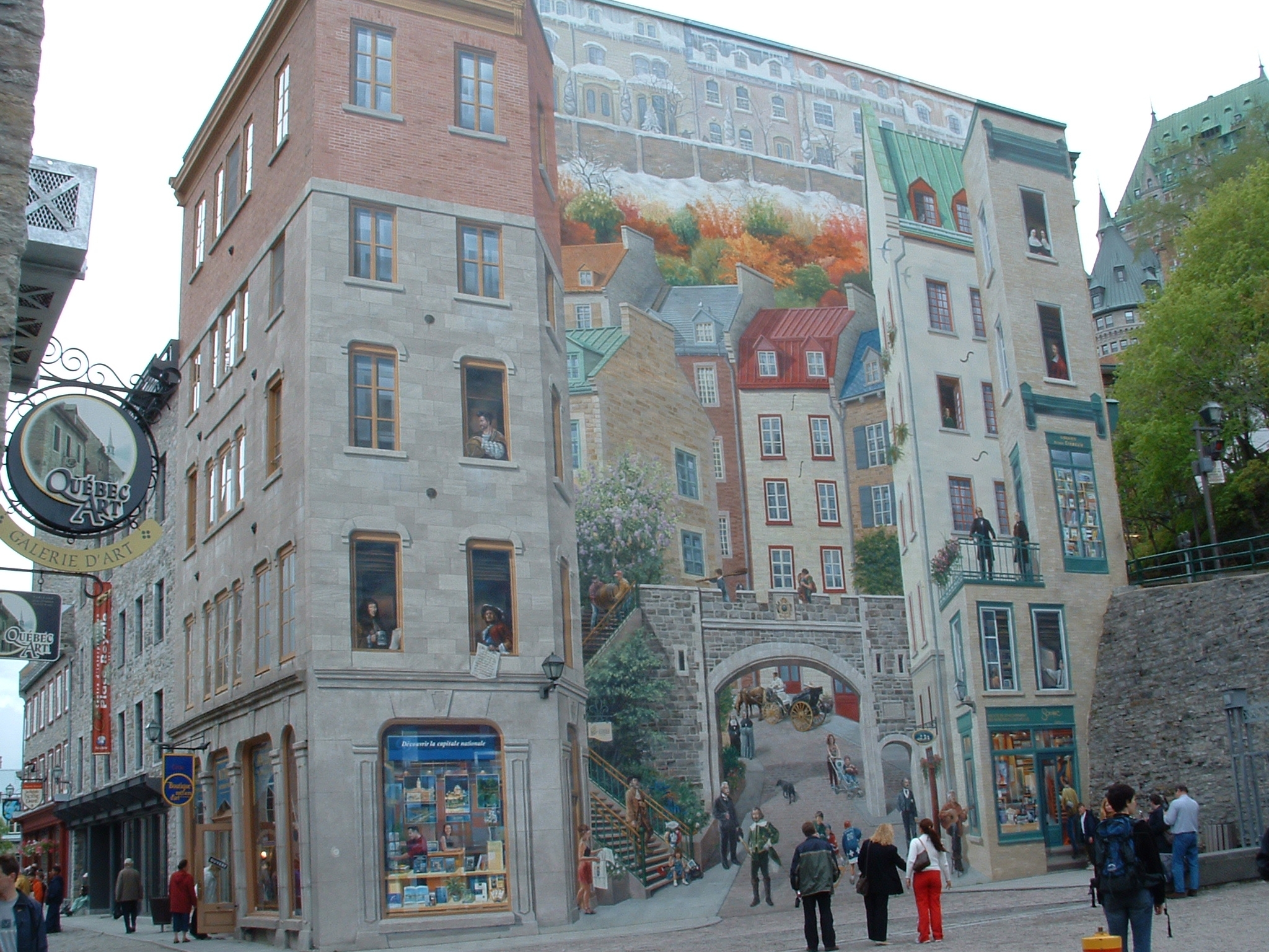 Mural, Quebec City