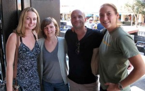 Hope Klug, Sheri Johnson, Matt Smith and Clare Rittschof at the 2010 ISBE meeting in Perth, Australia