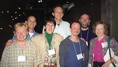 My Students and Collaborators. From left to right: Wayne Potts, Sharoni Shafir, Bonnie Ploger, Rich Buchholz, Dustin Penn, Jeff Lucas, Jane Brockmann