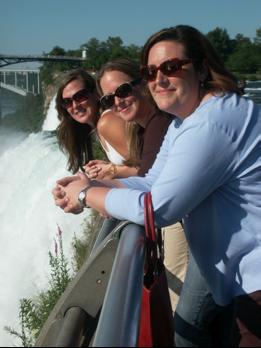 Claudia, Jessica, Pam, Prader WIlli Conference Niagara Falls 2006