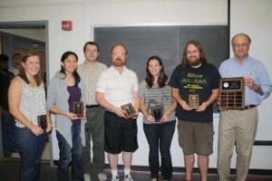 UF Department of Mathematics Graduate Student Teaching Award Winner, 2012