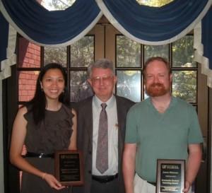 UF Graduate Student Teaching Award Winner, 2012