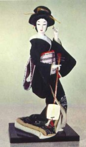 """The geisha or """"person of accomplishments"""" is trained in music, dance, and elegant conversation."""