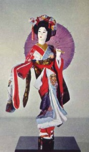 The Maiko, or geisha-in-training, is still a favorite sight in Kyoto.