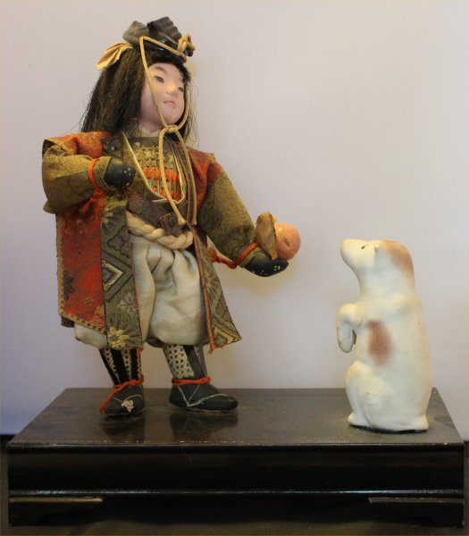 Momotaro with dog