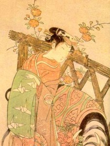 Buncho, the Kabuki actor Segawa Ugiro (1772)