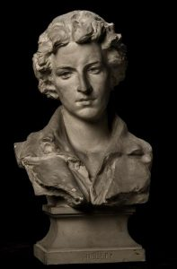 Smithsonian Bust of Percy Bysshe Shelley