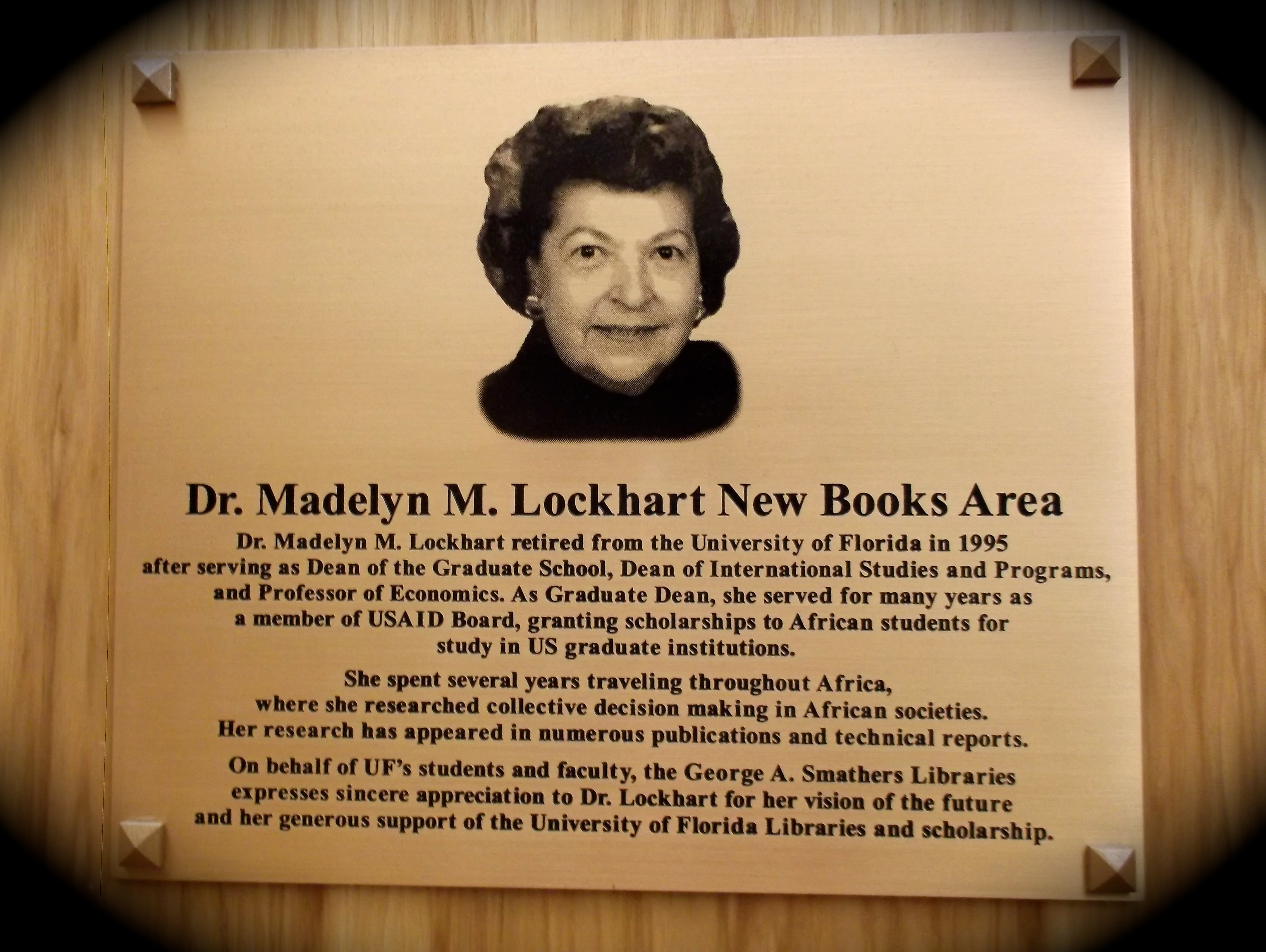 madelyn lockhart dissertation fellowship