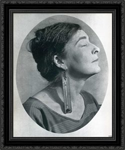 portrait of Mina Loy by Man ray