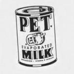 vintage Pet Milk can