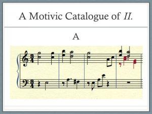 Excerpt of Stecker's composition