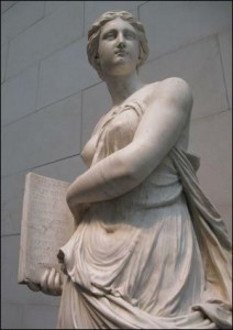 statue of the Muse Kalliope