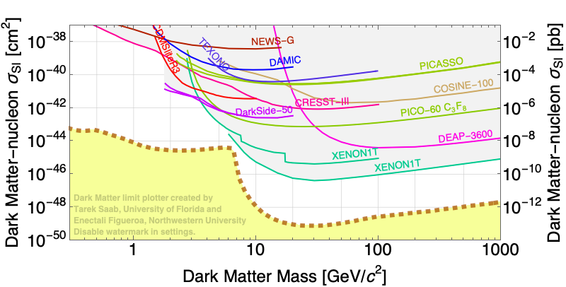 Dark Matter Limits